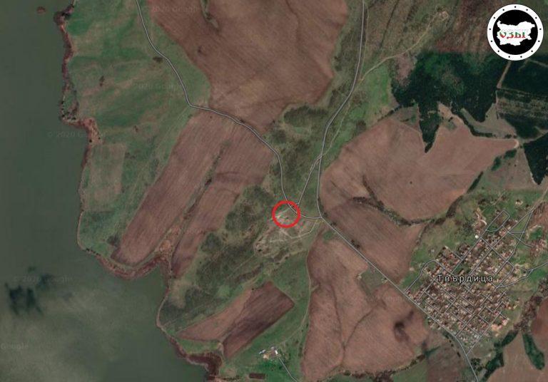 Незаконно сметище край Бургас