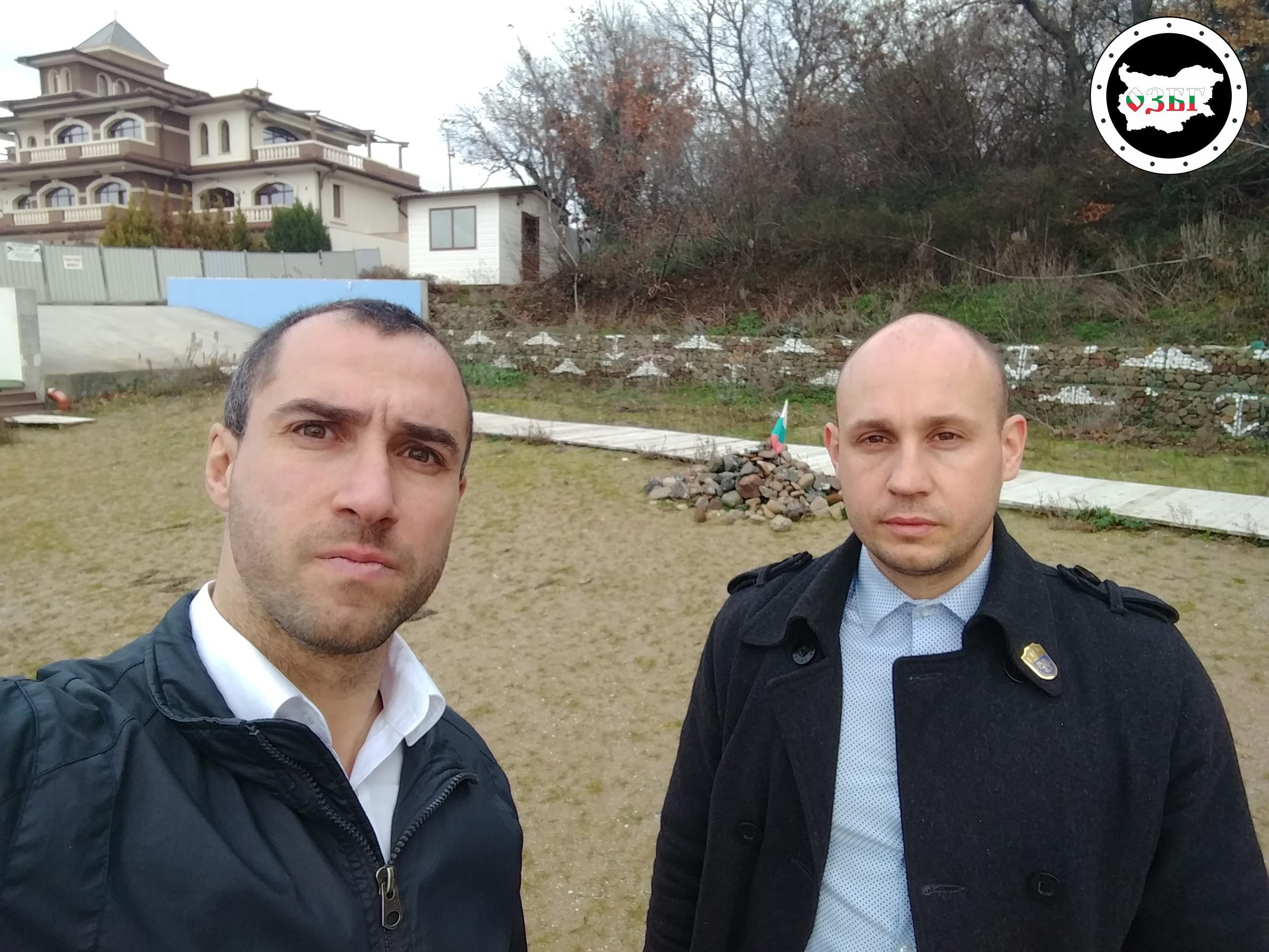 На плаж в Росенец през януари