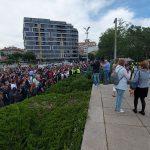 Протест срещу прайда в Бургас