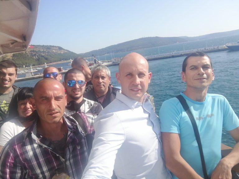 Бисер Русимов от ОЗБГ със съмишленици